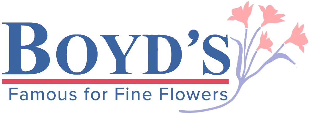 Logo for Boyd's Flowers Wilmington